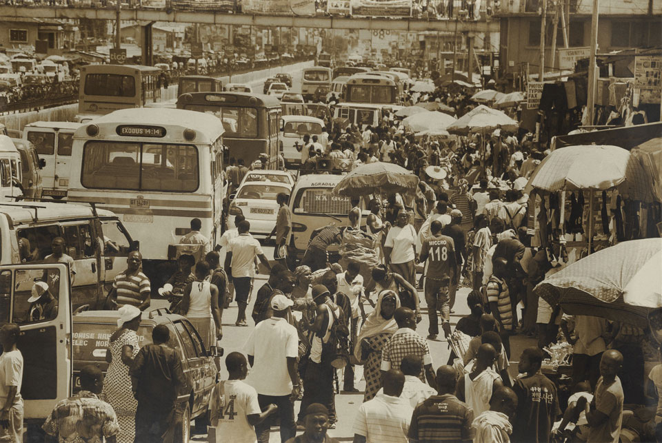 Projekttagebuch Ruanda Bevölkerung auf belebter Straße