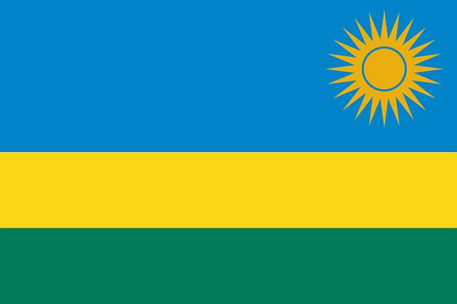 Projekttagebuch Ruanda Staatsflagge von Ruanda